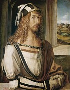 Self-portrait Photos - Durer, Albrecht 1471-1528 by Everett