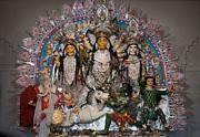 Durga Idol - Ahiritola - Kolkata Print by Pallab Banerjee