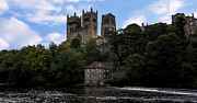 Durham Cathedral And Fulling Mill Print by Trevor Kersley