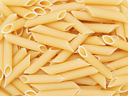 Italian Meal Prints - Durum noodles Print by Roman Milert