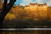 Asheville Prints - Dusk at the Biltmore Estate Print by Doug Sturgess