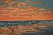 Kathleen McDermott - Dusk at the Shore # 2
