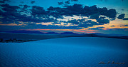 Allen Biedrzycki - Dusk at White Sands