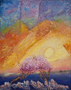 Pallet Knife Originals - Dusk by William Killen