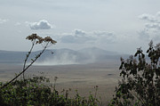 All - Dust Cloud Ngorongoro Caldera by Tom Wurl