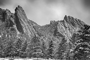 James BO  Insogna - Dusted Flatiron in Black and White