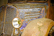 Claude Lustier - Car dusty and rusty - 2