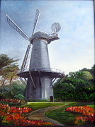 LaVonne Hand - Dutch Windmill San...