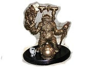 Steam Punk Sculptures - Dwarf by Kevin Sexton