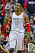 Slam Dunk Framed Prints - Dwight Howard Framed Print by Florian Rodarte