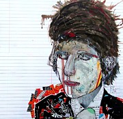 Bob Dylan Mixed Media - Dylan Uncut by Brian Buckley