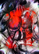 Muscles Mixed Media - Dynamic Muscle Mass by Michael Knight
