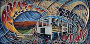 Dynamic Route 66 II Print by Ricardo Chavez-Mendez
