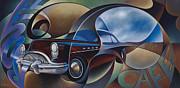 Dynamic Route 66 Print by Ricardo Chavez-Mendez
