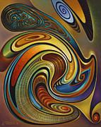 Dynamic Series #19 Print by Ricardo Chavez-Mendez