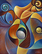 Reclining Paintings - Dynamic Series 22 by Ricardo Chavez-Mendez