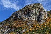 New England Acrylic Prints - Eagle Cliff and the Eaglet by Juergen Roth