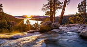 Lake Tahoe Photography Prints - Eagle Falls Emerald Bay Lake Tahoe Sunrise Print by Scott McGuire