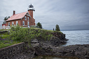 Randall Nyhof - Eagle Harbor Lighthouse in Michigan No. 0211