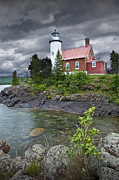 Randall Nyhof - Eagle Harbor Lighthouse in Michigan No. 4572