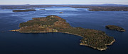 Eagle Island, Penobscot Bay Print by Dave Cleaveland