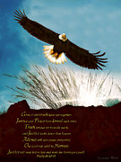 Constance Woods - Eagle of Justice Looks Down From Heaven