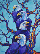 Eagle Tree Print by Derrick Higgins