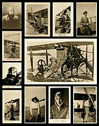 Inventors Prints - Earlier Aviators Print by Gwyn Newcombe