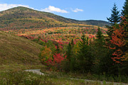 Hilltop Scenes Prints - Early Autumn at Mount Snow Print by Charles Kozierok