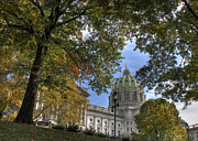 Capitol Photos - Early Autumn at the Capitol by Lori Deiter