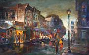 Ylli Haruni - Early Evening in Main Street Nyack
