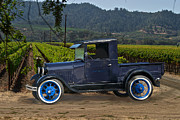 Family Car Posters - Early Model A Pick Up Poster by Dave Koontz