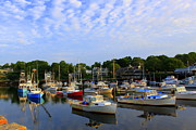 Boats In Harbor Originals - Early Morning at Perkins Cove by Suzanne DeGeorge