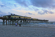Early Morning Sun Photos - Early Morning At Sun Glow Pier by Deborah Benoit