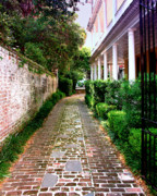 Charleston Houses Art - EARLY MORNING Charleston SC by William Dey
