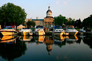 Kingston City Hall Art - Early Morning Downtown Marina by Paul Wash