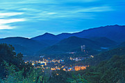 Gatlinburg Framed Prints - Early Morning Gatlinburg Framed Print by Gene Berkenbile
