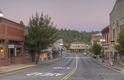 Kinkade Framed Prints - Early Morning Placerville Framed Print by Steve Barr