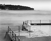 Curl Prints - Early Morning South Curl Curl Sydney Print by Colin and Linda McKie