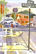 Streets Painting Originals - Early Morning Sunshine II by Kip DeVore