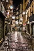 Small Town Life Prints - Early Morning Toledo Print by Joan Carroll