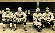 Babe Ruth Photos - Early Red Sox by Benjamin Yeager