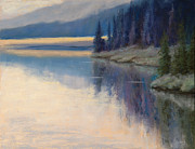 Western Art Pastels - Early Risers by Gary Huber