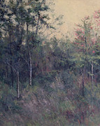 Gregory Arnett Paintings - Early September Dusk by Gregory Arnett