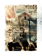 Montage Mixed Media - Early Settlers  by Bob Salo