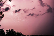 Photography Lightning Originals - Early Summer Missouri Storm by Byron Snider