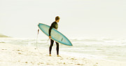 Early Surf Print by Lindy Brown