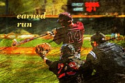 Glove Photo Originals - Earned Run by Travis Tapley