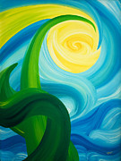 Splendor Paintings - Earth and Sky Meet by Ginny Gaura