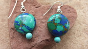 Amy Drago - Earth Earrings